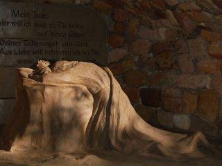 ゲッセマネで祈られるイエス