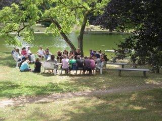 「カナン」のガリラヤ湖での<br />祈り